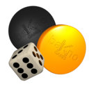 Backgammon HD logo