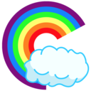 Oh My Rainbow logo