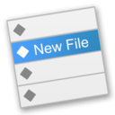 New File Menu logo