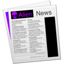 Alien News logo