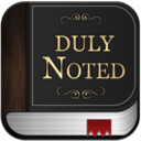 Duly Noted logo