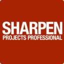 SHARPEN projects professional logo
