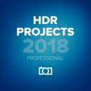 HDR projects professional logo
