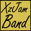 Guitar XzJam Virtual Band logo