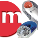 Logo for Macally USB Mouse/Trackball