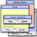 Logo for Voice Stickies
