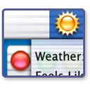 Logo for WeatherMenu