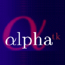 Logo for Alphatk