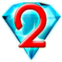 Logo for Bejeweled 2 Deluxe
