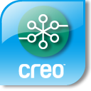 Creo Six Degrees logo