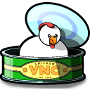 Chicken of the VNC logo