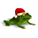 Christmas Super Frog logo