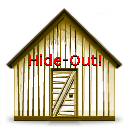 Logo for Hide-Out!