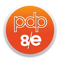Logo for PDP-8-E Simulator