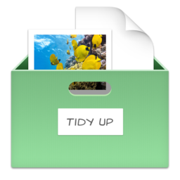 Tidy Up is part of Freeing up disk space