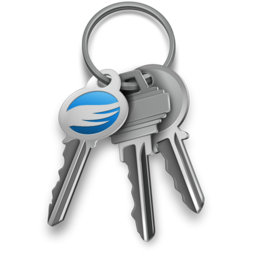 Logo for GPG Keychain Access