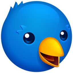 Logo for Twitterrific 5 for Twitter