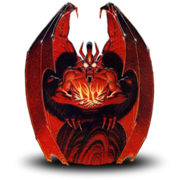 Logo for Ultima III