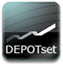 Logo for DEPOTset
