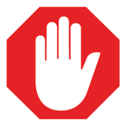 Billedresultat for adblock icon
