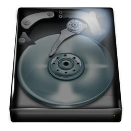 Logo for Glass Disk Icons