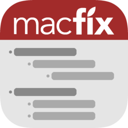 Logo for MacFix Widget