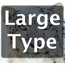 Logo for LargeType2