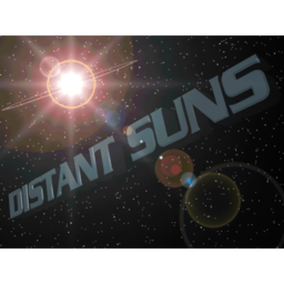 Logo for Distant Suns X