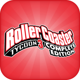 Logo for RollerCoaster Tycoon 3 Platinum