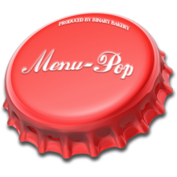 Logo for MenuPop