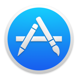 Logo for Apple App Store