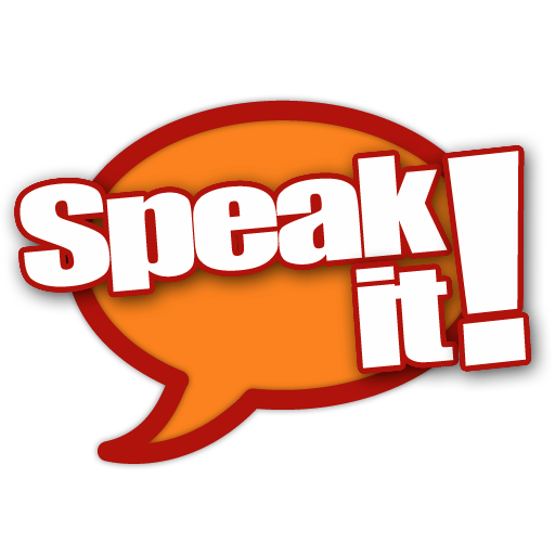 Logo for Speak it!