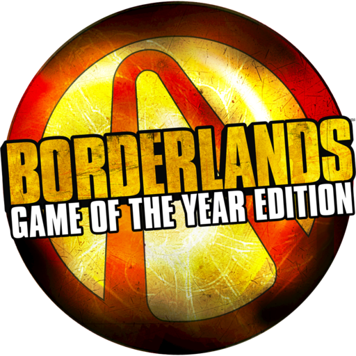 Logo for Borderlands Game of the Year