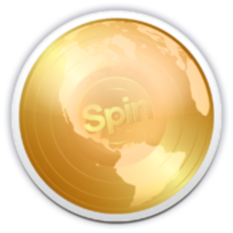 Logo for Spin Music HD