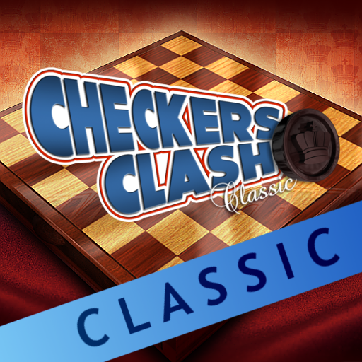 Logo for Checkers Clash Classic