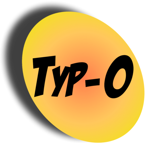Logo for Typ-O