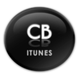 Logo for Crystal Black for iTunes