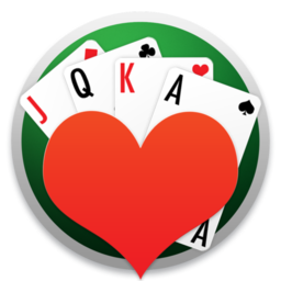Logo for Hearts Cards