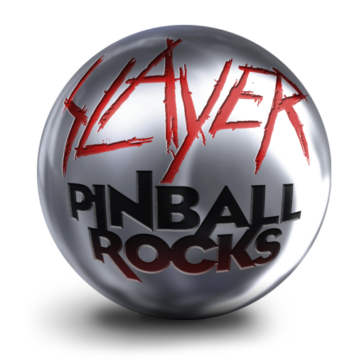 Logo for Slayer Pinball Rocks HD