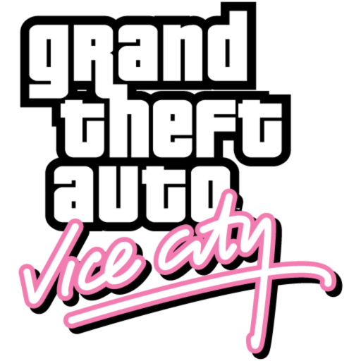 Logo for Grand Theft Auto: Vice City