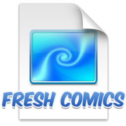 Logo for Fresh Comics Screensaver