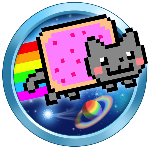 Logo for Nyan Cat: Lost In Space