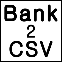 Logo for Bank2CSV