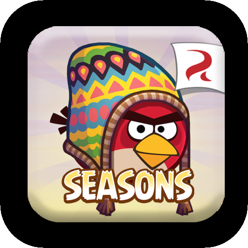 Logo for Angry Birds Seasons