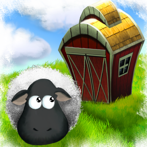 Logo for Running Sheep: Tiny Worlds