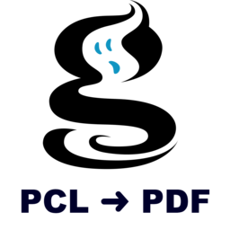 Logo for MacPCLtoPDF