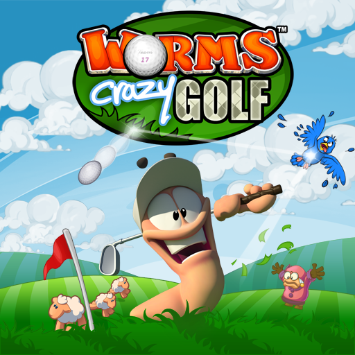 Logo for Worms Crazy Golf