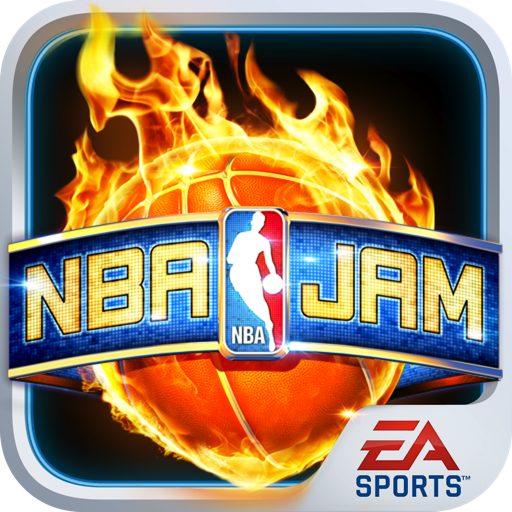 Logo for NBA JAM by EA SPORTS