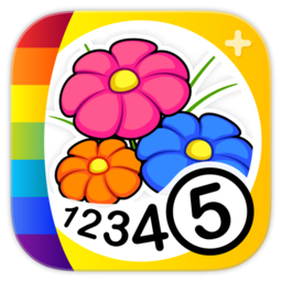 Logo for Color by Numbers - Flowers
