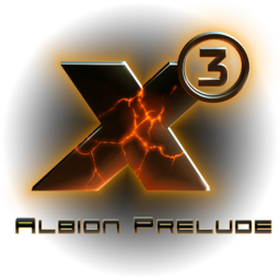 Logo for X3: Albion Prelude